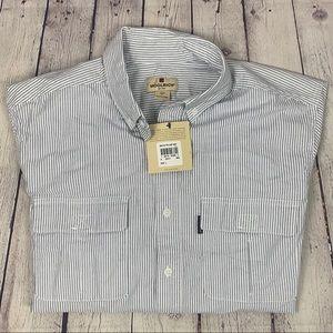 Woolrich Short Sleeve 2 Pocket Button Down Shirt